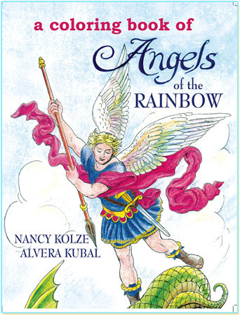 We are Rainbow Angels of Heavenly Light.  We love to be with you day and night.  So give us the colors that we like best, say our names out loud, and we'll do the rest!